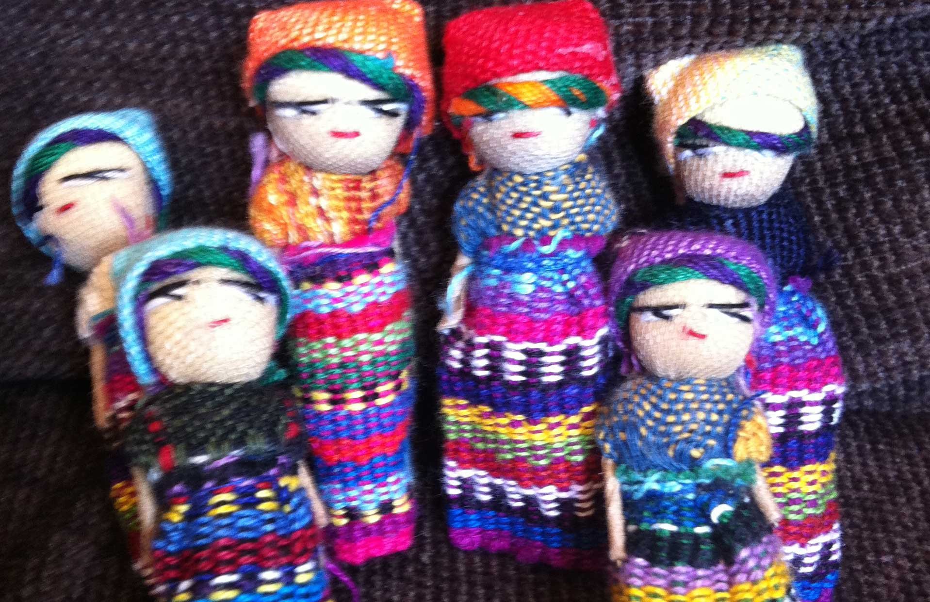 Making the dolls